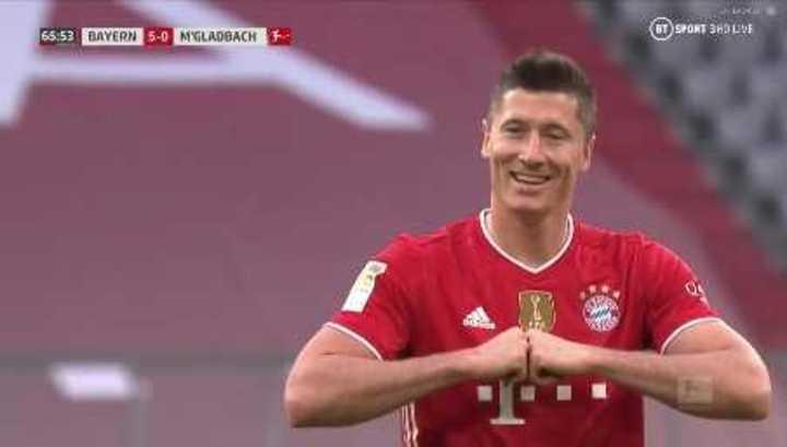 El Bayern festejó el título con un 6-0 al Mönchengladbach