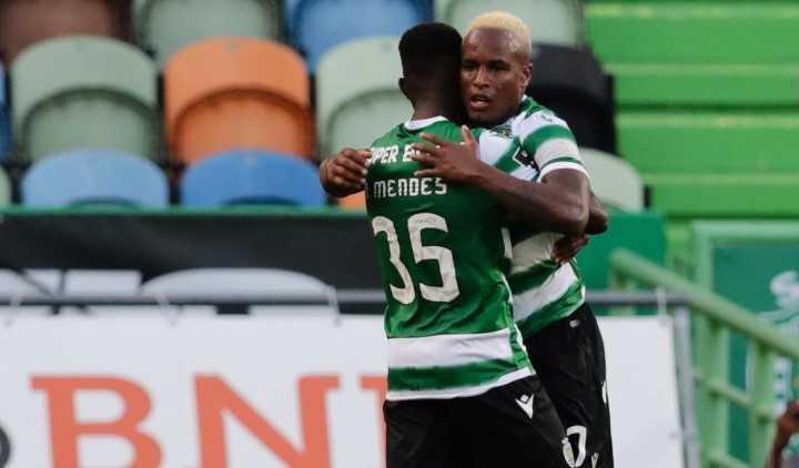 El gol del Sporting Lisboa