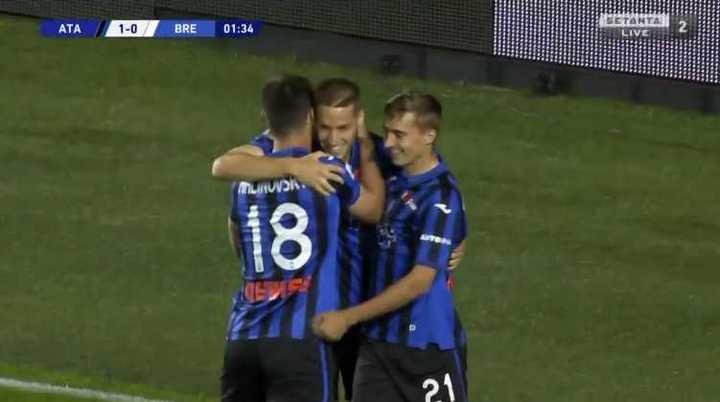 La goleada de Atalanta 6 a 2 ante Brescia