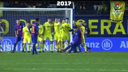 El día que Messi imitó su propia genialidad