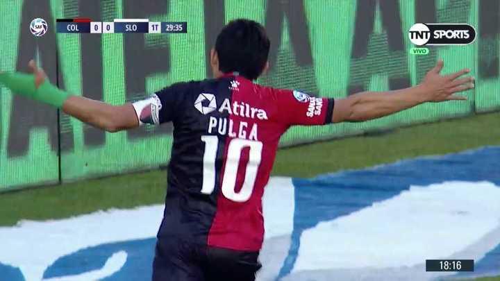 Pulguita cambió el penal por gol