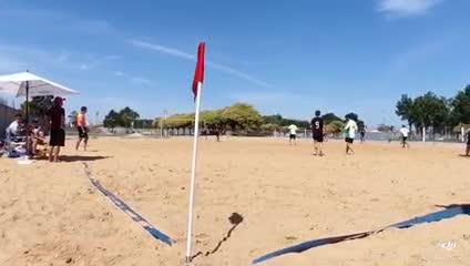 Huracán campeón del Beach Soccer