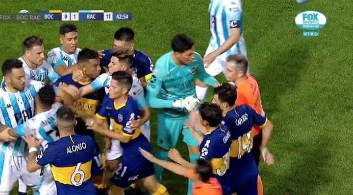 ¿Fue penal para Boca?