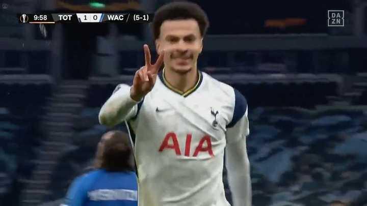 El resumen de la victoria de Tottenham ante Wolfsberg