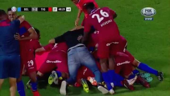 González lo dio vuelta sobre el final para delirio de Tigre