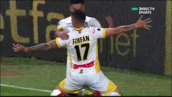 Farfán puso el 1 a 0