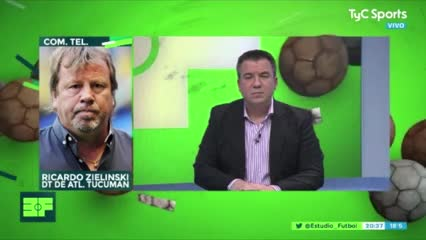 """River no se comportó como debía"", dijo Ricardo Zielinski"