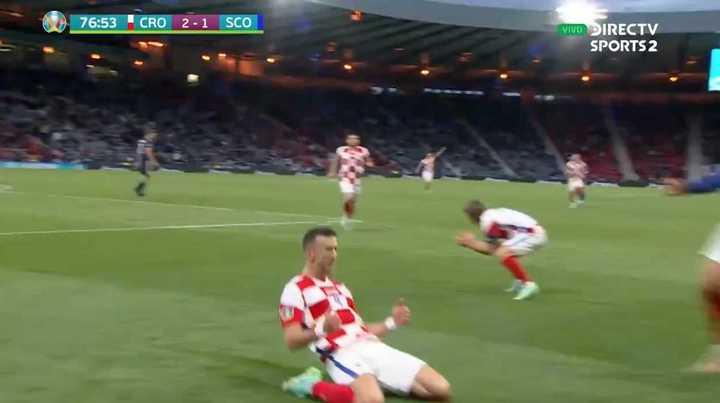 Croacia marcó el tercero