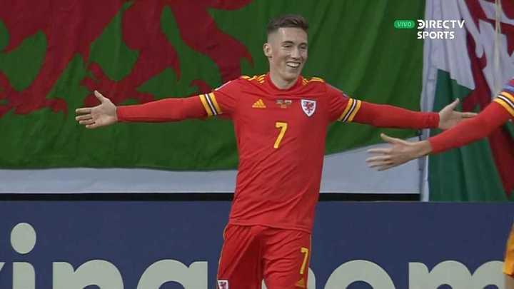 Los goles de la victoria de Gales sobre Azerbaiyán