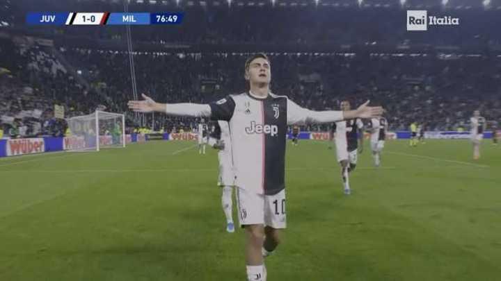 Dybala marcó un golazo para Juve