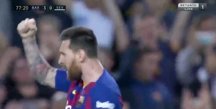 Golazo de tiro libre de Leo