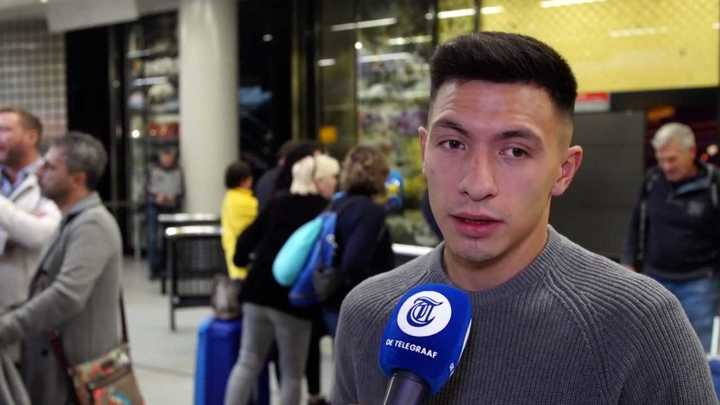 Lisandro Martínez llegó a Holanda para sumarse al Ajax