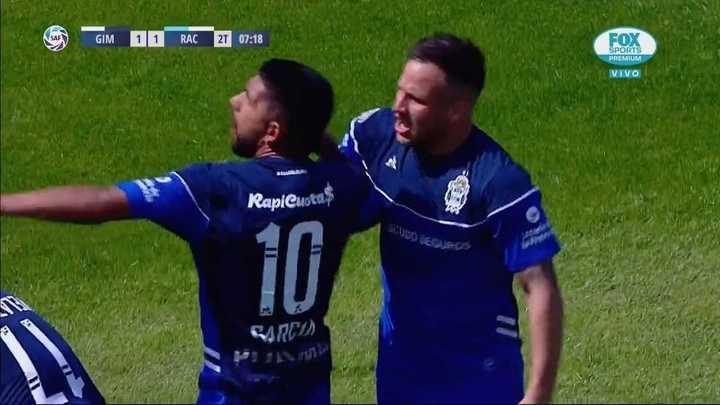García empató para el Lobo
