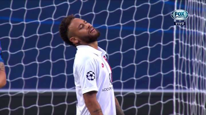 ¡Tremendo lo que se morfó Neymar!