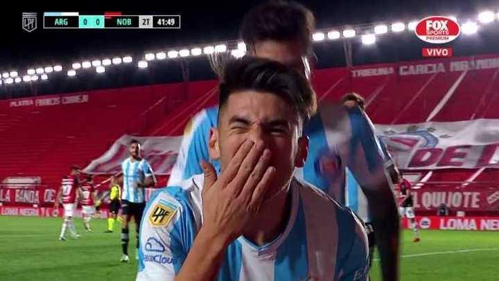 Villalba le dio el triunfo al Bicho sobre el final