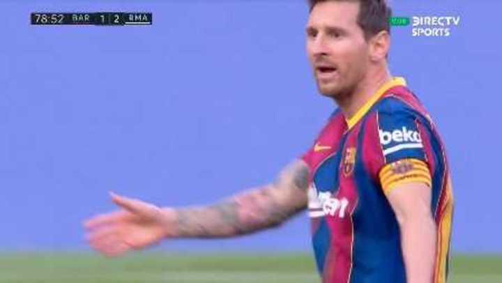 Lo mejor de Messi en el clásico