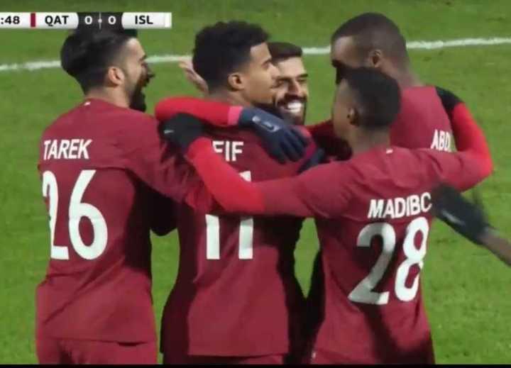 El 2 a 2 de Islandia y Qatar