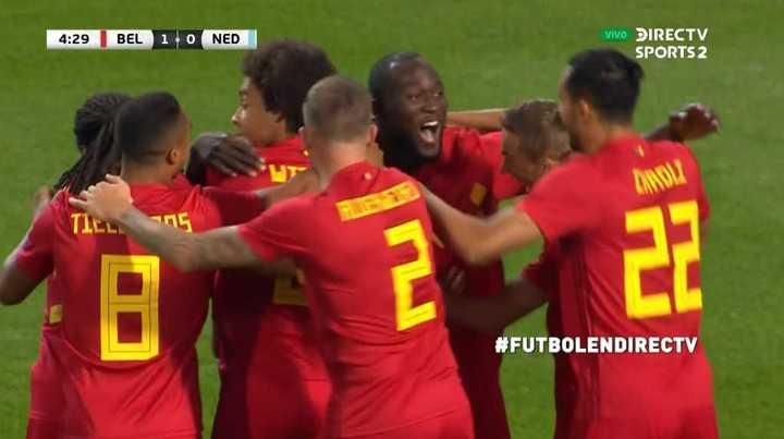 Mirá los goles de Bélgica 1 - Holanda 1