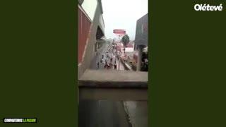 Brutal agresión a un hincha de Tigres que quedó grave
