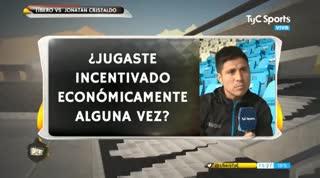 Cristaldo confesó que, en Vélez, jugaron incentivados por San Lorenzo