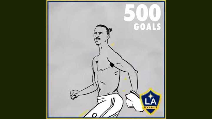 El video de Zlatan por los 500 goles
