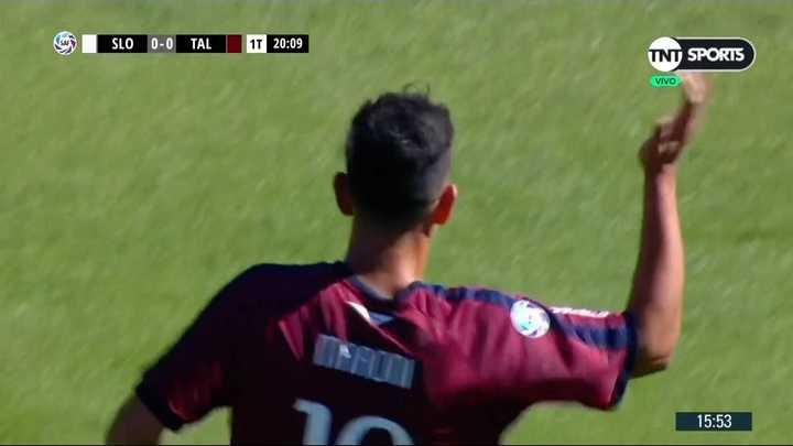Talleres se impone ante San Lorenzo con gol de Maroni