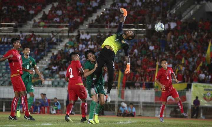 La Verde se motiva al golear a Birmania