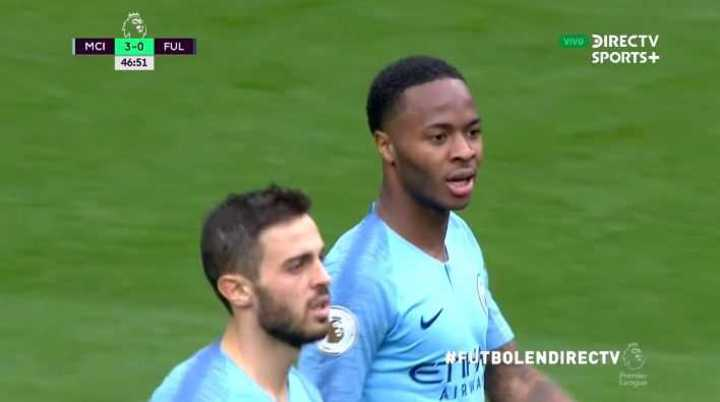 Sterling marcó el tercero del City