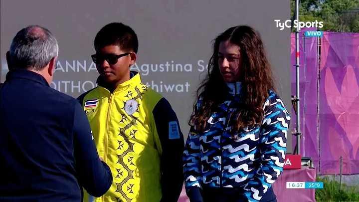 Agustina Giannasio ganó medalla de plata