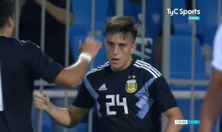 Franco Cervi marcó un golazo en el final