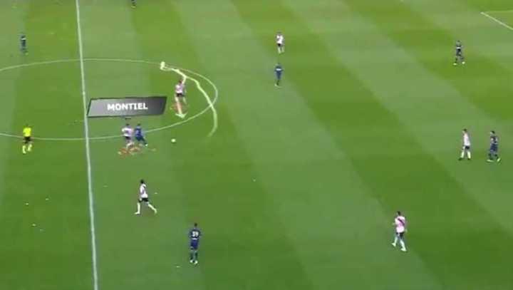 El análisis del primer gol de River