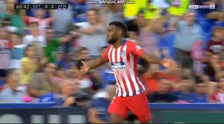 Mirá los goles de Getafe 0 - At. de Madrid 2
