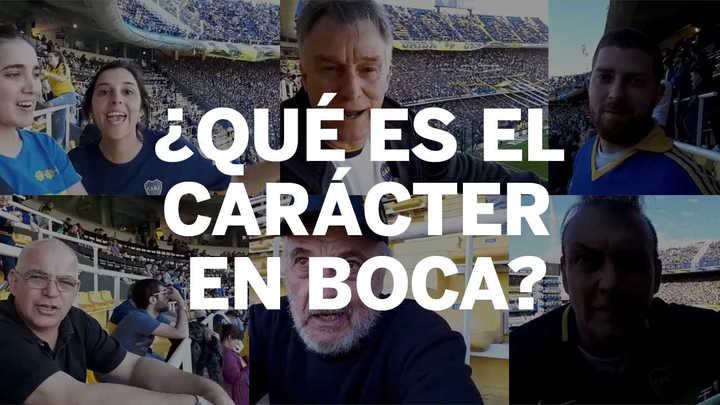 ¿Qué es el carácter en Boca?