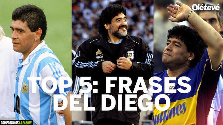 Top 5: Frases de Maradona