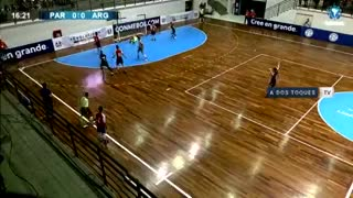 Argentina goleó 5-1 a Paraguay