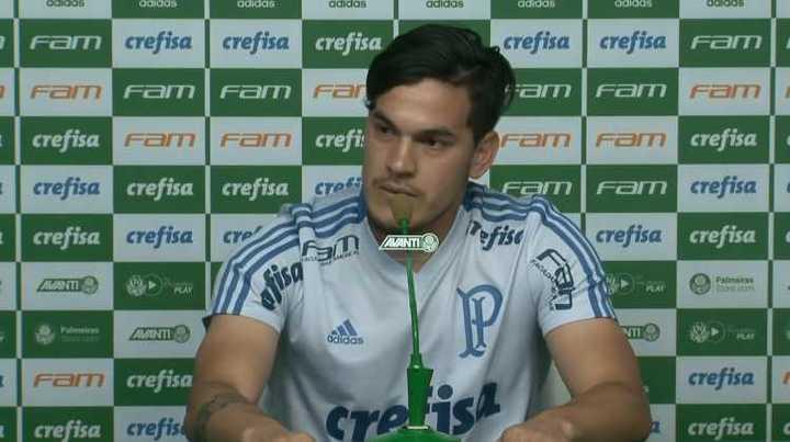 Gustavo Gómez habló del cruce con Boca