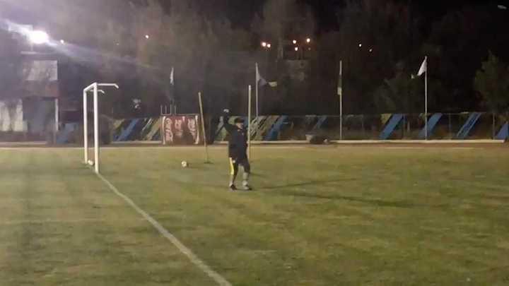 Maradona en la práctica