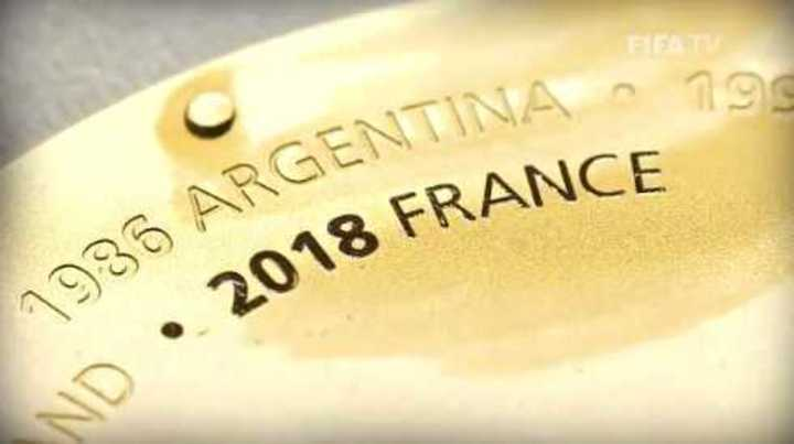Un nuevo detalle para la Copa de Mundo