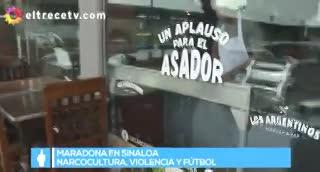 La vida de Maradona en Sinaloa
