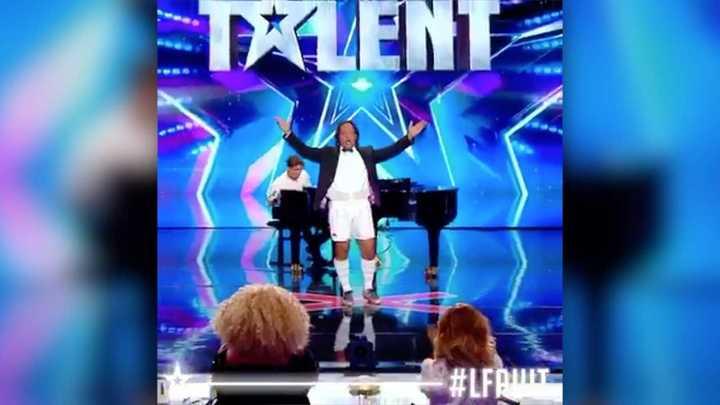Un ex Puma en el concurso de talentos