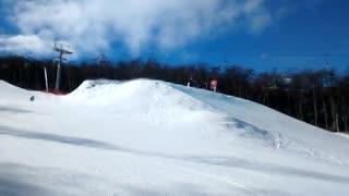 Palazo en la nieve