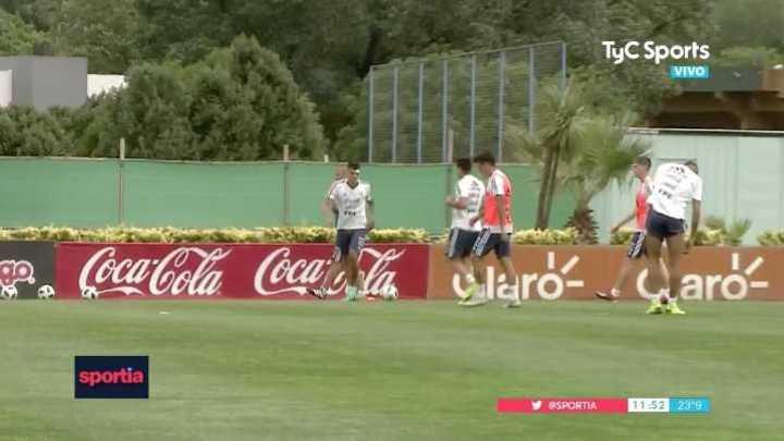 La Selección se prepara para recibir a México