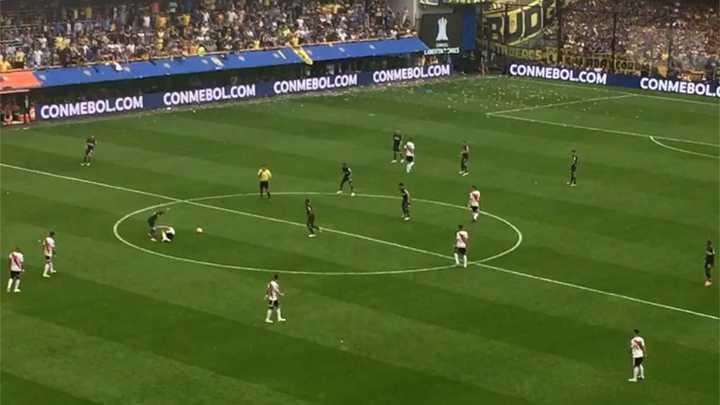 Así se paró Boca tras el segundo gol