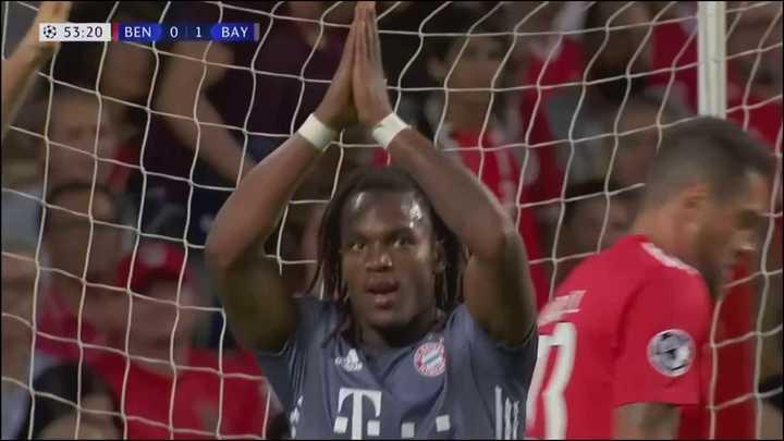 El gol de Sanches al Benfica
