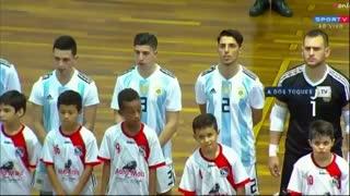 Argentina igualó 4-4 contra Brasil