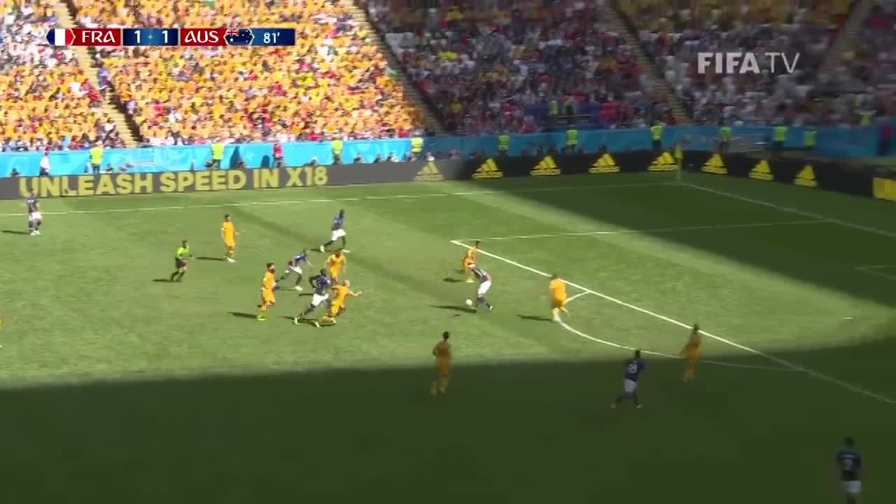 Cunha Valid U00f3 El Gol Para Francia 21 06 2018 Ol U00e9