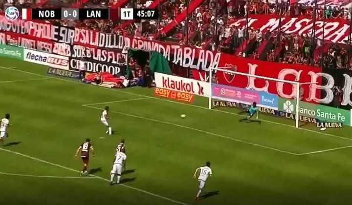 De penal, Figueroa marcó el 1 a 0 para Newell´s