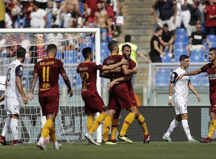 La Roma no pudo aguantar dos goles de ventaja