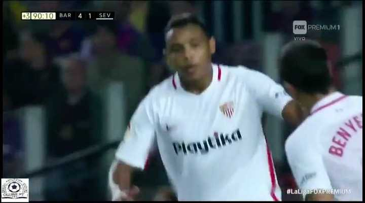 El segundo de Sevilla lo convirtió Muriel
