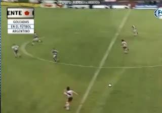 Goleada de River a Platense en 1997
